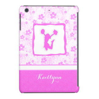 Cheer or Pom Pretty in Pink Floral iPad Mini Case