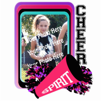 Cheer Photo Frame Standing Photo Sculpture