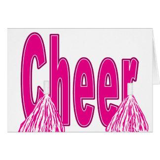 Cheer Pink Card