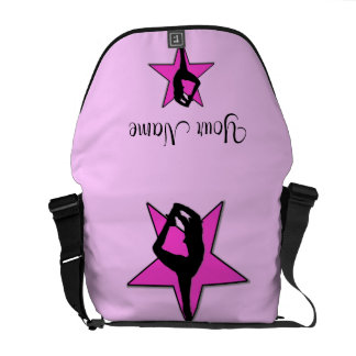 Cheer Pink star Rickshaw Zero Messenger Bag