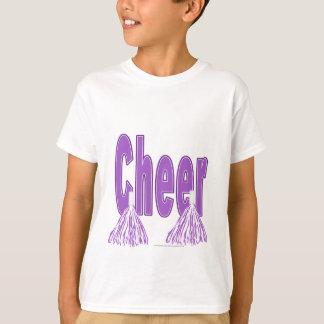 Cheer Purple Kids Tee