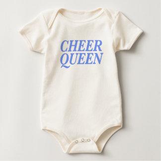 Cheer Queen Print Baby Bodysuit