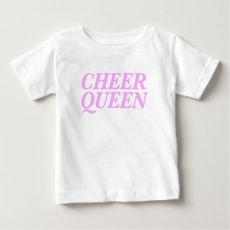 Cheer Queen Print Baby T-Shirt