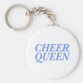Cheer Queen Print Keychain
