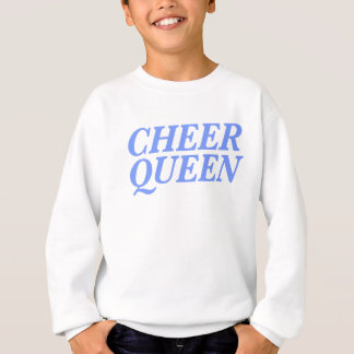 Cheer Queen Print Sweatshirt