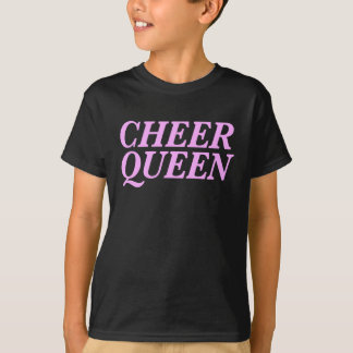 Cheer Queen Print T-Shirt
