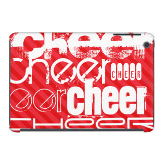 Cheer; Scarlet Red Stripes iPad Mini Covers