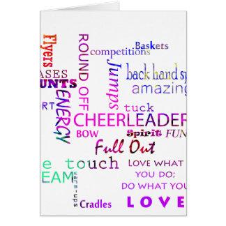 Cheer Spirit Card