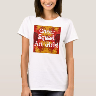 Cheer Squad Art Girls! T-Shirt