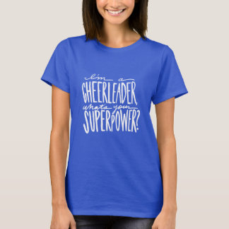 Cheer T-shirt - Cheerleader T-shirt