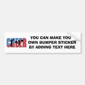 CHEER T-shirts and Gifts Bumper Sticker