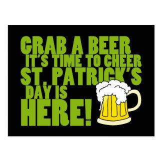 Cheer to St. Patrick's Day Postcard