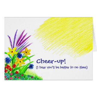 Cheer-up Bouquet Card