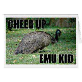 Cheer Up Emu Kid Card