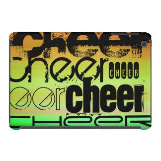 Cheer; Vibrant Green, Orange, & Yellow iPad Mini Covers