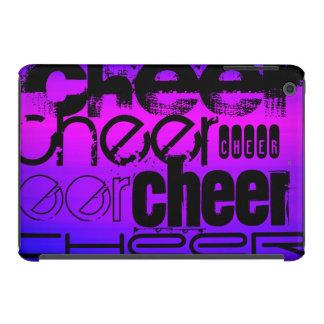 Cheer; Vibrant Violet Blue and Magenta iPad Mini Covers