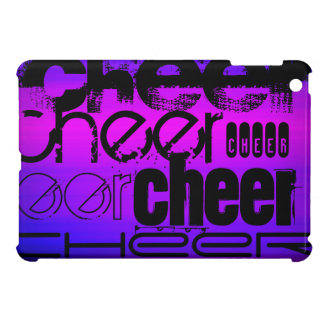 Cheer; Vibrant Violet Blue and Magenta Cover For The iPad Mini