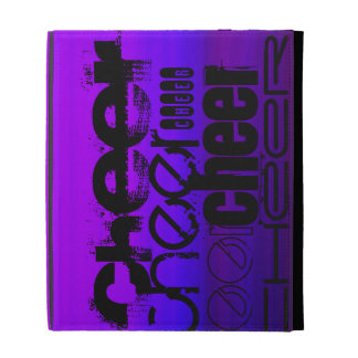 Cheer; Vibrant Violet Blue and Magenta iPad Folio Cases