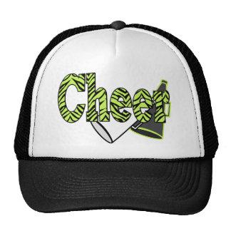 Cheer Zebra Style Cap Trucker Hat
