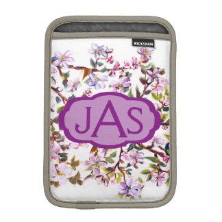 Cheerful Apple Blossom Blooms Acrylic Painting iPad Mini Sleeve