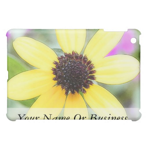 Cheerful Black Eyed Susan Cover For The iPad Mini