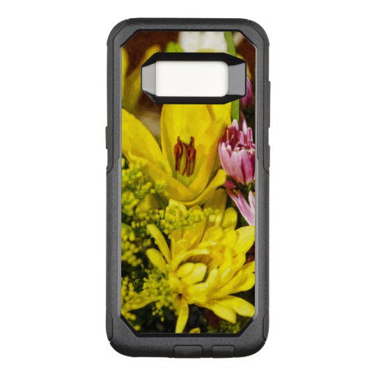Cheerful Bouquet Painterly OtterBox Commuter Samsung Galaxy S8 Case