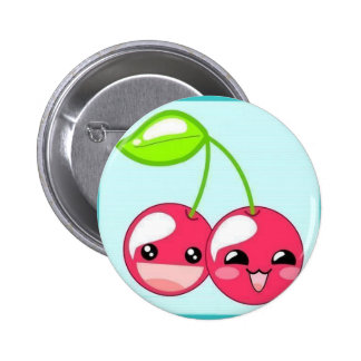 Cheerful Cherries Buttons