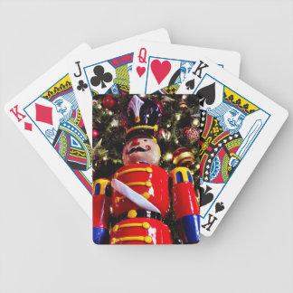 Cheerful Christmas Nutcracker Poker Deck