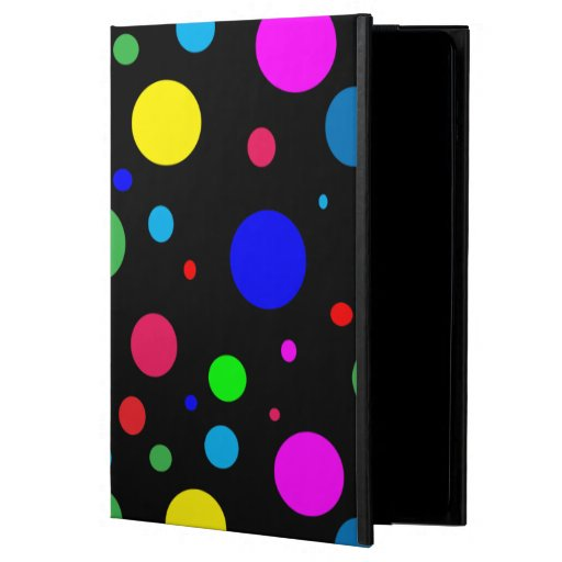 Cheerful Color Polka Dots Case For iPad Air