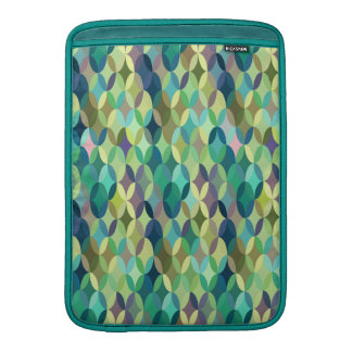 Cheerful colorful vintage retro abstract MacBook sleeve