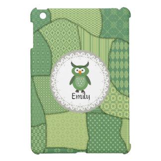 Cheerful cute owl doily lace iPad mini cover