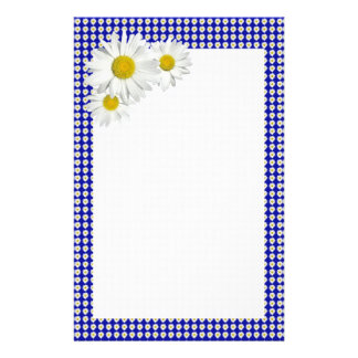 Cheerful Daisy Stationary Stationery Paper