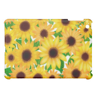 Cheerful European Sunflowers Speck Case iPad Mini Covers