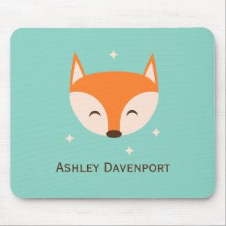 Cheerful Fox Mouse Pad
