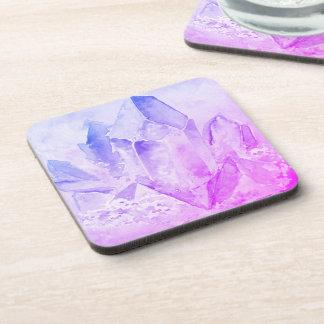 *~* Cheerful Fun Amethyst Chakra Crystal Coaster
