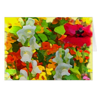 Cheerful Garden Colors Card