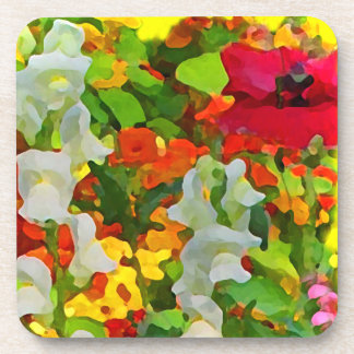 Cheerful Garden Colors Coasters