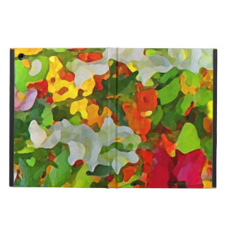 Cheerful Garden Colors iPad Air Case
