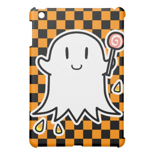 Cheerful Ghost Cover For The iPad Mini