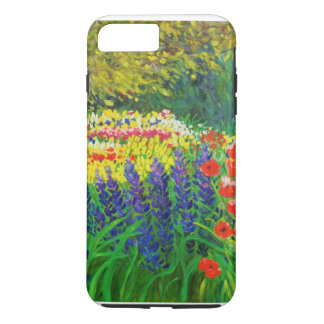 cheerful painted garden iPhone 7 case