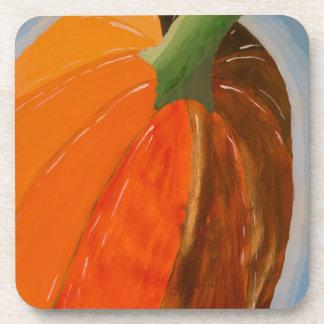 Cheerful Pumpkin Coaster