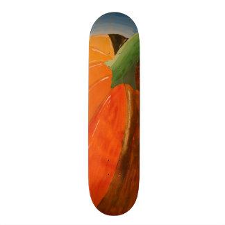Cheerful Pumpkin Skateboard