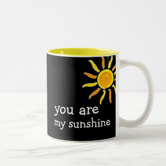 Cheerful Social Expression Two-Tone Coffee Mug