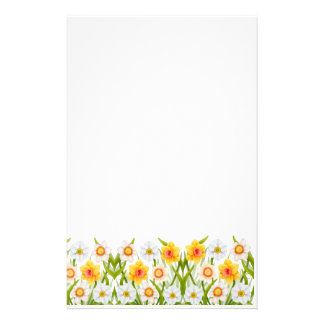 Cheerful Spring Daffodils Stationery