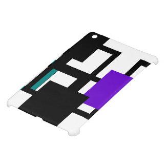 Cheerful Square Purple Green iPad Case Mini
