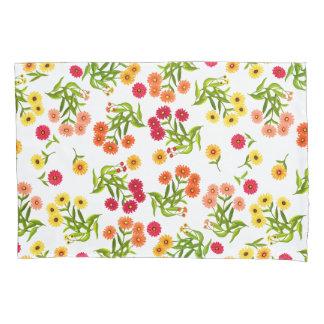Cheerful Summer Floral Garden Pillowcase