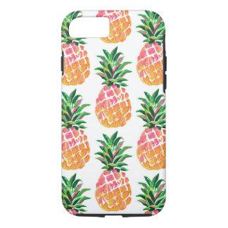 Cheerful Tropical Hawaiian Pineapple Case-Mate iPhone Case