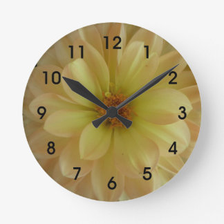 Cheerful Yellow Flower Clock