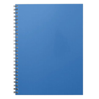 Cheerfully Amiable Blue Color Spiral Note Book