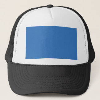 Cheerfully Amiable Blue Color Trucker Hat